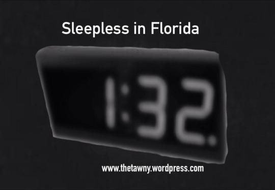 sleepless in fl