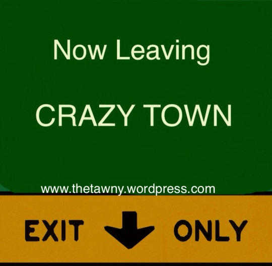Now Leaving Crazy Town
