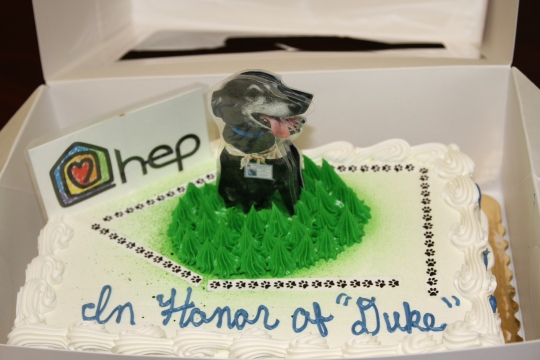 duke tribute cake